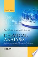 Chemical Analysis