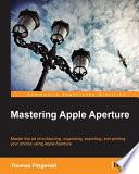 download ebook mastering apple aperture pdf epub