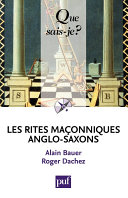 Les rites ma  onniques anglo saxons