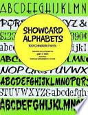 Showcard Alphabets