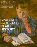Graduate Programs in Art History