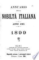 Annuario della nobilt   italiana