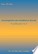 Homöopathie und christlicher Glaube