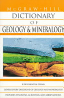 McGraw Hill Dictionary of Geology and Mineralogy