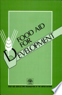 Food Aid for Development