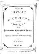 History of Wyoming County  N Y