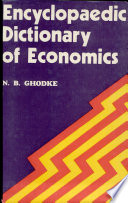 Encyclopaedic Dictionary of Economics