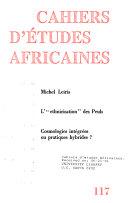 Cahiers d'études africaines