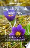 English Finnish Bible No5