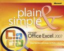 Microsoft   Office Excel   2007 Plain   Simple
