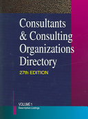 Consultants Consulting Organizations Directory 2v Set book
