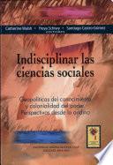 Indisciplinar las ciencias sociales