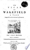 THE VICAR OF WAKEFIELD A TALE Supposed to be Written by HIMSELF