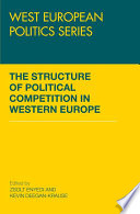 The Structure of Political Competition in Western Europe