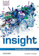 insight  Pre Intermediate  Student Book