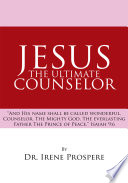 Jesus  the Ultimate Counselor