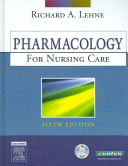 Pharmacology for Nursing Care   User Guide   Access Code