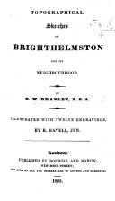 download ebook topographical sketches of brighthelmston and its neighbourhood ... illustrated with twelve engravings, by r. havell, jun pdf epub
