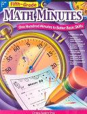 Fifth-grade Math Minutes