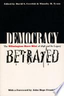 Book Democracy Betrayed
