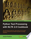 Python Text Processing with NLTK 2 0 Cookbook