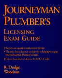 Journeyman Plumber s Licensing Exam Guide