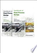 Handbook of Food Process Design