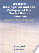 download ebook western intelligence and the collapse of the soviet union pdf epub