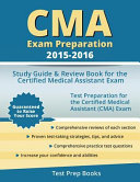 CMA Exam Preparation 2015 2016