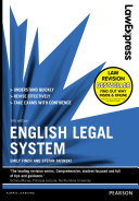 Law Express: English Legal System 5th edn