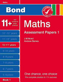New Bond Assessment Papers Maths 10 11  Years