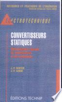 Convertisseurs statiques