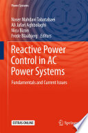 Reactive Power Control in AC Power Systems
