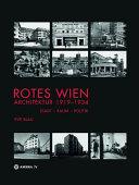 Rotes Wien  Architektur 1919 1934