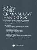 Ohio Criminal Law Handbook 2015 2