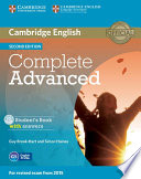 Complete Advanced Student s Book with Answers with CD ROM
