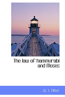 download ebook the law of hammurabi and moses pdf epub