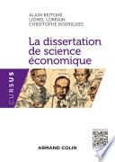 La dissertation de science   conomique