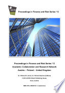 ACRN Proceedings in Finance and Risk Series    13