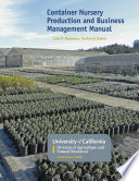 Container Nursery Production and Business Management Manual