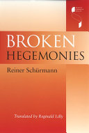 Book Broken Hegemonies