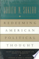 Redeeming American Political Thought