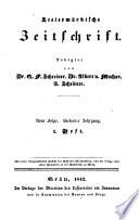 Steiermärkische Zeitschrift