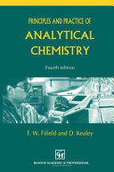 Principles And Practice Of Analytical Chemistry