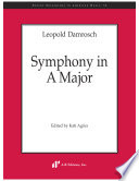 Symphony in A major