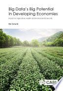 Big Data S Big Potential In Developing Economies