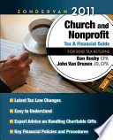 Zondervan Church and Nonprofit Tax and Financial Guide 2011