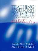 Teaching Adolescents to Write