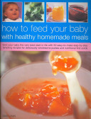 download ebook how to feed your baby with healthy homemade meals pdf epub