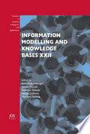 Information Modelling And Knowledge Bases Xxii